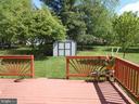 Deck  16x16 -  Rear Yard - 10472 LABRADOR LOOP, MANASSAS