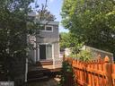 Deck that leads from master bedroom to backyard - 1127 SHORT ST, ANNAPOLIS