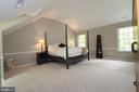 Master bedroom spacious light and airy (18 x 16) - 10651 OAKTON RIDGE CT, OAKTON