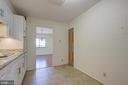 Kitchen - Beautiful Ceramic Tile Floors - 5901 MOUNT EAGLE DR #1115, ALEXANDRIA