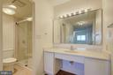 Master Bath with Dressing Area - 5901 MOUNT EAGLE DR #1115, ALEXANDRIA
