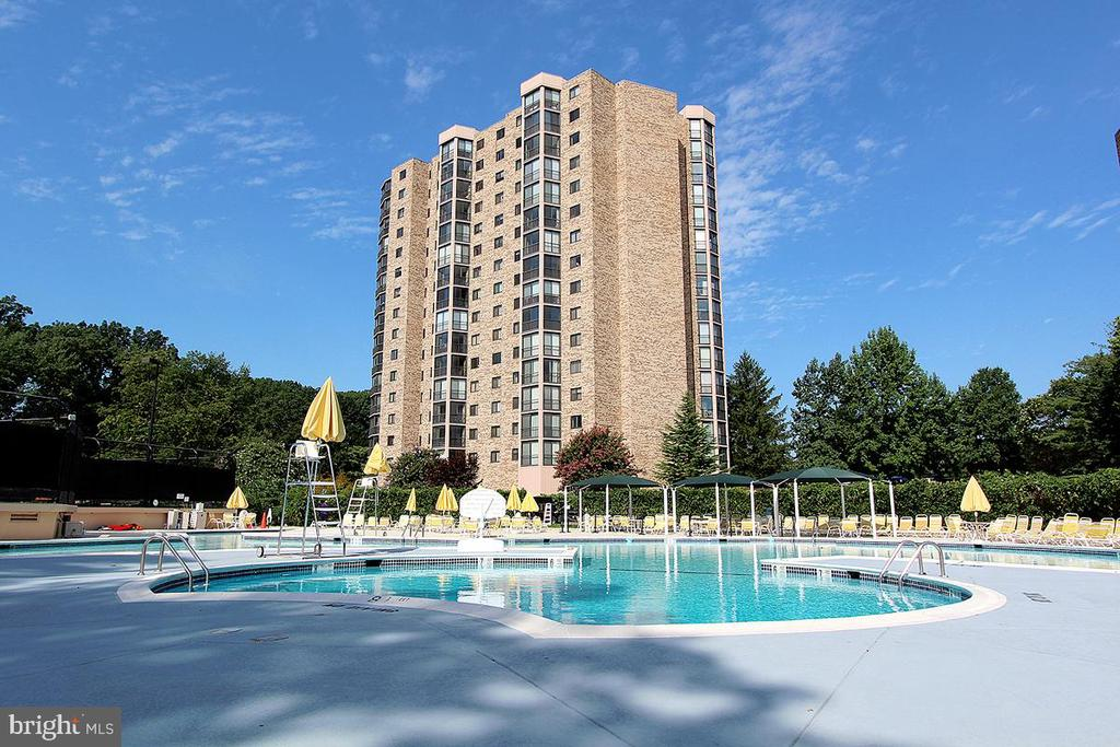 Montebello Outdoor Swimming Pool! - 5901 MOUNT EAGLE DR #1115, ALEXANDRIA