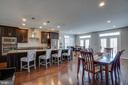 Kitchen/Dining room view - 20668 DUXBURY TER, ASHBURN
