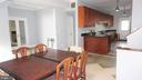 Kitchen/Dining Room - 7301 BRAD ST, FALLS CHURCH
