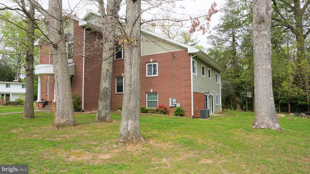Exterior Right Side - 7301 BRAD ST, FALLS CHURCH