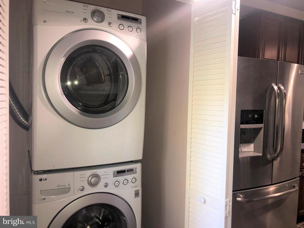 Laundry in the Kitchen Area - 7301 BRAD ST, FALLS CHURCH