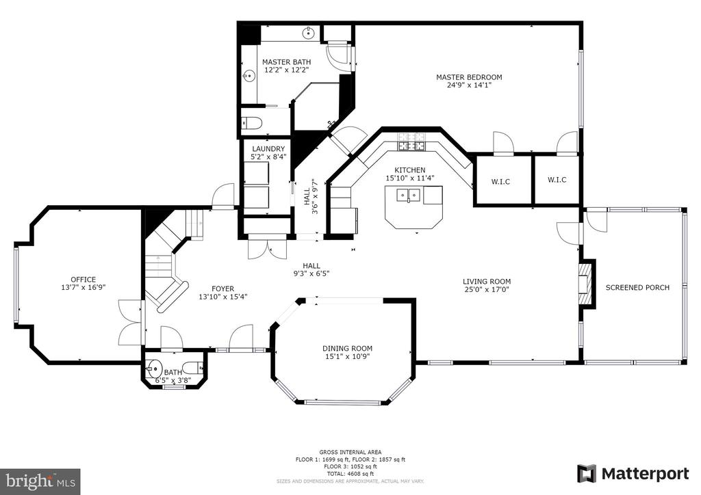 Main Level Floor Plan - 3026 OLD ANNAPOLIS TRL, FREDERICK