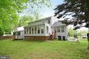 Back of house/back yard - 9306 KEVIN CT, MANASSAS PARK