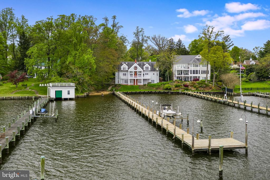 Severn River Waterfront Custom Home - 6 LOUDEN LN, ANNAPOLIS