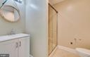 Full Bathroom in the Basement. - 646 HOLLY CORNER RD, FREDERICKSBURG