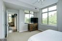 Master Bedroom - So many windows! - 1000 N RANDOLPH ST #310, ARLINGTON