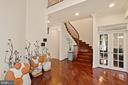 French door to private Library/In-Home Office - 2976 TROUSSEAU LN, OAKTON