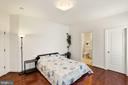 Good size closet space in Bedroom #2 - 2976 TROUSSEAU LN, OAKTON