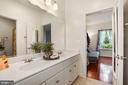 Double sink for Jack and Jill Bathroom - 2976 TROUSSEAU LN, OAKTON