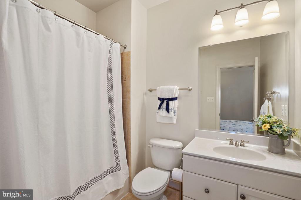 Private Bath in Bedroom #2 - 2976 TROUSSEAU LN, OAKTON