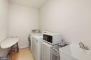 Separate Laundry Room with ceramic tiled floor - 2976 TROUSSEAU LN, OAKTON