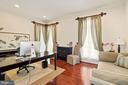 Private Library/In-Home Office - 2976 TROUSSEAU LN, OAKTON