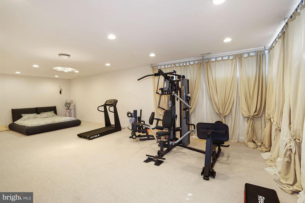 Exercise equipment will be convey (New) - 2976 TROUSSEAU LN, OAKTON