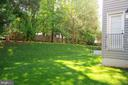 LARGE PRIVATE YARD - 47320 MIDDLE BLUFF PL, STERLING