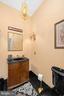 HALF BATHROOM ON THE MAIN LEVEL - 11010 SHERIDAN DR, SPOTSYLVANIA