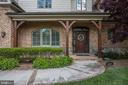 handsome brick, stone, and shake shingle exterior - 6537 36TH ST N, ARLINGTON