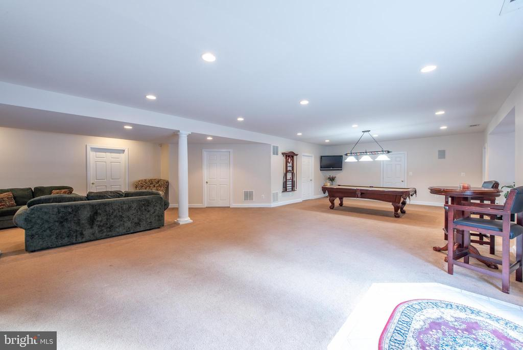 Basement  family room - 27531 PADDOCK TRAIL PL, CHANTILLY