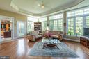 In law suite sun room - 27531 PADDOCK TRAIL PL, CHANTILLY