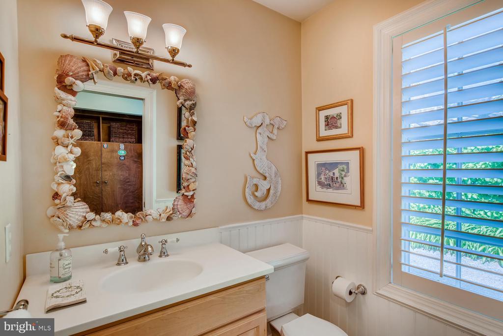 Half Bath Two adjacent to Kitchen & Mud Room - 1209 BERWICK RD, TOWSON