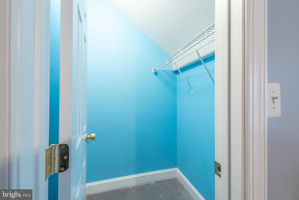 Each Bedroom has its own walk-in closet - 27531 PADDOCK TRAIL PL, CHANTILLY