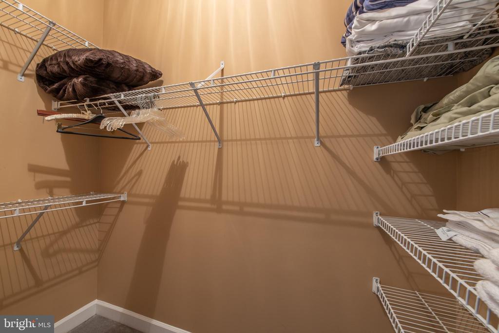 Bedroom #3 Walk-in closet - 27531 PADDOCK TRAIL PL, CHANTILLY