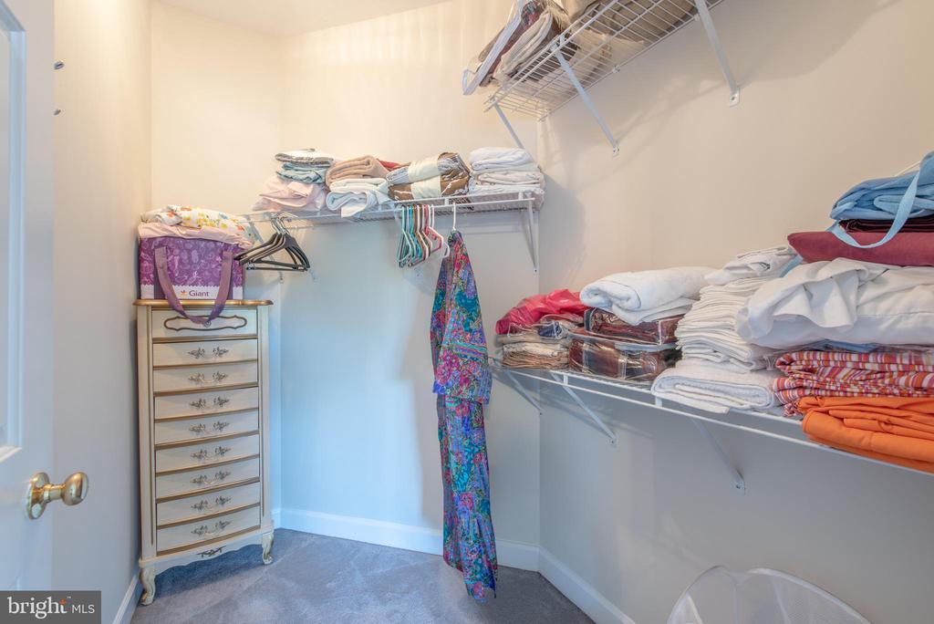 Bedroom #5 walk-in closet - 27531 PADDOCK TRAIL PL, CHANTILLY