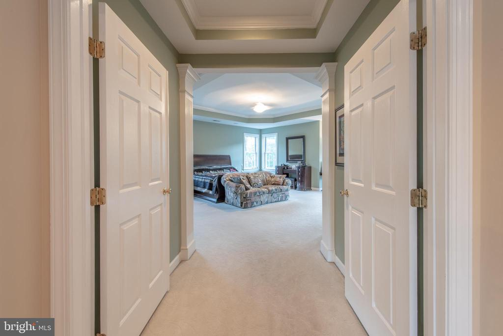 welcome to your future master bedroom - 27531 PADDOCK TRAIL PL, CHANTILLY