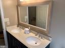 Upper Level Hall Bath - 8307 KINGS RIDGE CT, SPRINGFIELD
