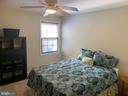 Master with Lighted Ceiling Fan - 8307 KINGS RIDGE CT, SPRINGFIELD