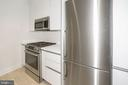 Bosch stainless appliances, gas cooking - 1745 N ST NW #103, WASHINGTON
