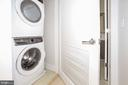 Larger capacity front loading washer/dryer - 1745 N ST NW #103, WASHINGTON