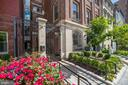 Iron gate secure entry, gated community. - 1745 N ST NW #103, WASHINGTON