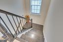 Up the elegant hard wood stairs are 4 bedrooms - 440 FLIGHT O ARROWS WAY, MARTINSBURG