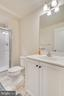 shower and single bowl vanity, great guest space - 440 FLIGHT O ARROWS WAY, MARTINSBURG