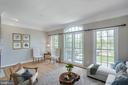 Virtually stagad living room - 43771 APACHE WELLS TER, LEESBURG
