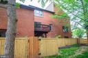 Exterior Rear of Home - 1145 N UTAH ST #1145, ARLINGTON