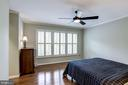 Master Bedroom #1 - Lovely Plantation Shutters - 1145 N UTAH ST #1145, ARLINGTON