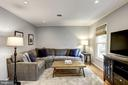 Living Room - Hardwood Floors & Recess Lighting - 1145 N UTAH ST #1145, ARLINGTON
