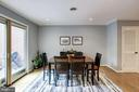 Dining Room - A FANTASTIC Space to Entertain! - 1145 N UTAH ST #1145, ARLINGTON