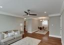 Living room - 5318 8TH RD S #3, ARLINGTON