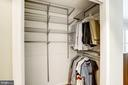 Master Bedroom #1 - Walk-In Closet w/ Elfa Shelves - 1145 N UTAH ST #1145, ARLINGTON