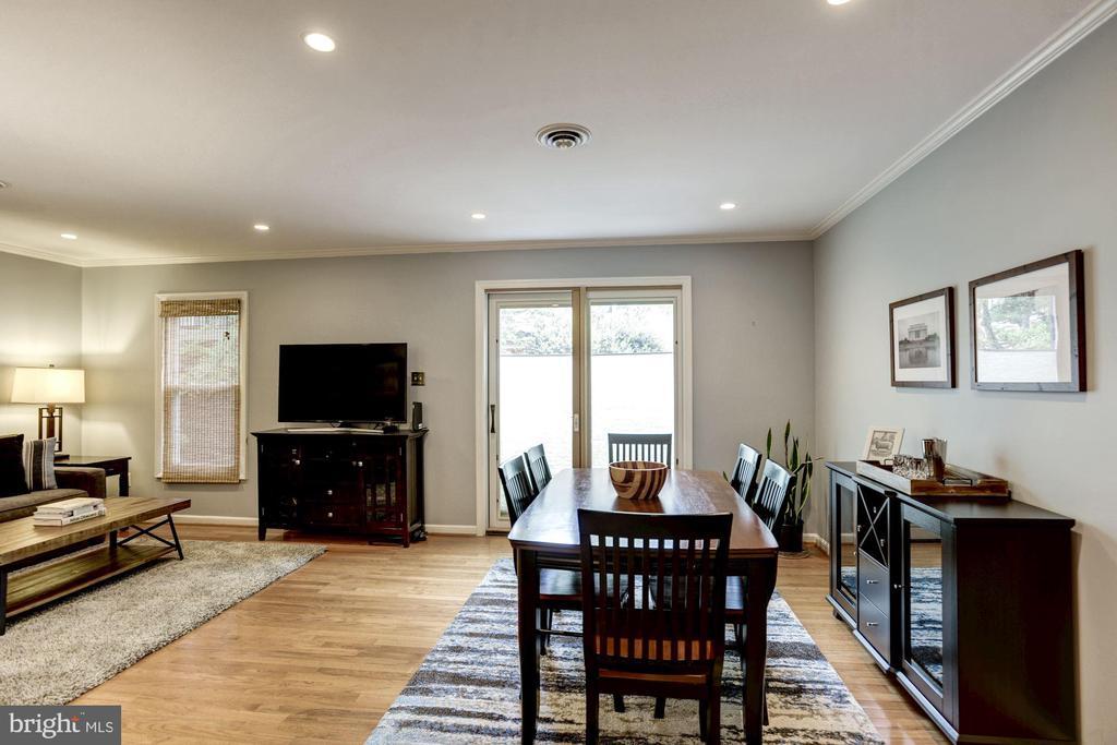 Dining Room Receives an Abundance of Sunlight! - 1145 N UTAH ST #1145, ARLINGTON