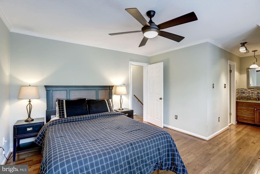 Master Bedroom #1 - Overhead Ceiling Fan & Light - 1145 N UTAH ST #1145, ARLINGTON