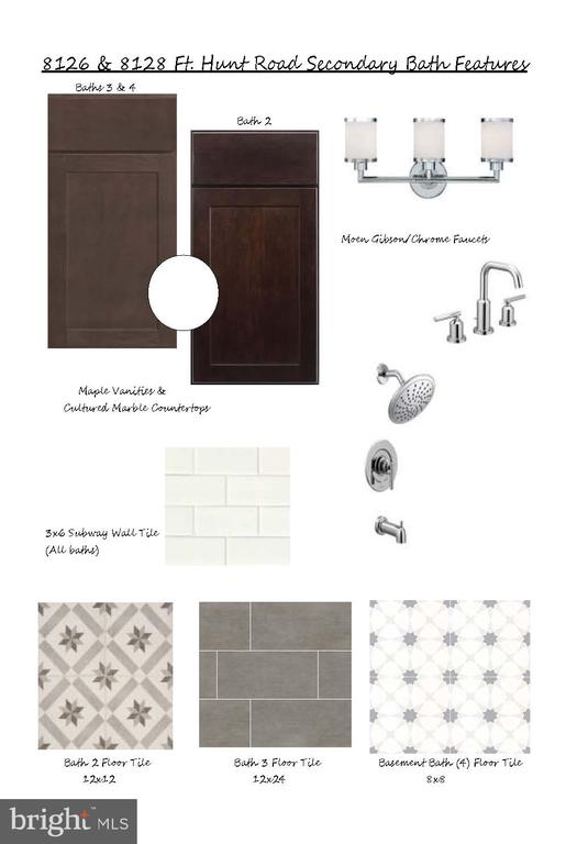 Guest Bathroom selections - 8128 FORT HUNT RD, ALEXANDRIA