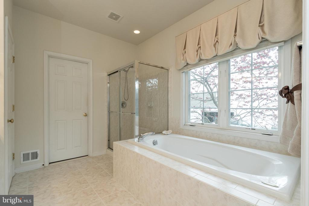 Master Bath w/Jetted Tub - 43777 PARAMOUNT PL, CHANTILLY